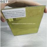 Rétroviseurs à biseau de sécurité en verre argenté de 2mm à 5mm avec support en argent