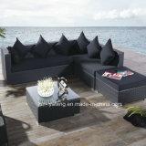 Novo Design Foshan Canto Comercial sofá de vime com piscina ou jardim (YT255)