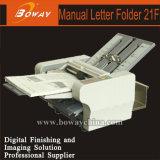 Machine se pliante Ep-21f de papier manuel de bureau d'annonce de Boway