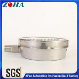 4インチの最下の接続の高品質のステンレス鋼圧力器械