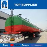 Titan 38000 litres de réservoir de carburant de remorque de lait de camion-citerne d'acier inoxydable de lait de remorques de camion-citerne à vendre