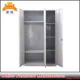 Fas-092 Derribar Almari Dormitorio Muebles de acero ropa Almirah armario
