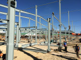 Estructura modular de acero de bajo costo como taller y almacén