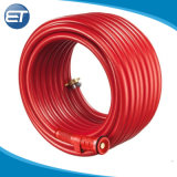 Gaine en PVC flexible haute pression renforcé de fibre de flexible de tubes de lutte contre les incendies