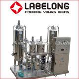 Suco fresco de máquinas de enchimento de garrafas de vidro