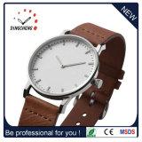 Relojes de cuero OEM personalizado de la correa de Reloj de dama (DC-077)