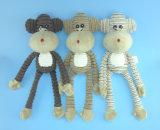 Jouet Non-Rempli 3 Asst. de crabot de jouet d'animal d'animal familier de peluche