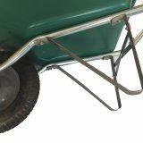 Wheelbarrow barato da qualidade forte com bandeja plástica