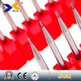 Микро- торцевая фреза каннелюры карбида 2/3/4 зерна с ISO9001 одобрила