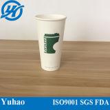 12oz de estilo de pared simple vaso de papel