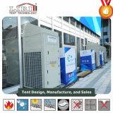 60kw verpackte zentrale Klimaanlagen mit Wärme für Sport-Spiele und grosse Ausstellung