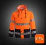 OEM померанцовый делает Hi Workwear водостотьким безопасности конструкции форм визави