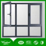 Venster van het Dichtingsproduct van de bouw het Hoge van Aluminium, het Venster van het Frame van het Aluminium van het Ontwerp van de Schommeling