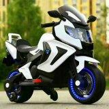 Rueda de LED de batería del motor de doble luz de los niños motocicleta eléctrica