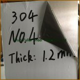 HousewareのためのSUS 304 0.4mm Stainless Steel Sheet