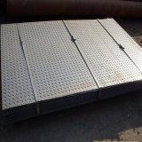 St37 laminés à chaud de la plaque en acier à damiers pour la chaudière