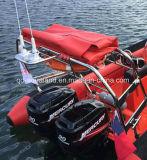 Aqualand Redressement automatique système de bateaux de patrouille à nervure/redressement automatique sacs/Srb pour bateaux militaires/Rescue Bateau à moteur (CSR)