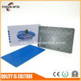 cartão plástico do presente da promoção com impressão personalizada, tamanho, forma