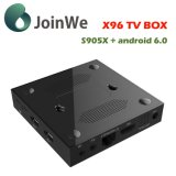 Set Top Box Android Market 6.0 S905 Ott Caixa TV X96