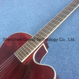 Creux de Jazz de guitare électrique dans le vin rouge (TJ-221)