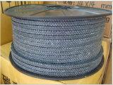 Embalaje de fibra de carbono trenzado de hilos de carbono sólido