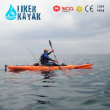 Profession superiore Fishing Kayak con Trolley&Seat 2in1