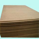 Panel duro en blanco de madera de la prensa del calor de la venta al por mayor 3m m el 1.2X2.4m de la fábrica