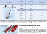 Usager solide de série de profil de Pultrusion de FRP grand, routes rondes solides