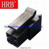 Conector macho macho Hrb de 3,0 mm para fio 43025
