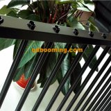 Cancello del raggruppamento e disegno di alluminio della rete fissa, rete fissa della piscina