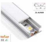 Vlakke LEIDEN van het Aluminium Profiel voor LEIDEN Licht 8.2*18mm van de Strook
