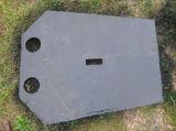 Pièces concaves d'usure de pièce de rechange de qualité de pièces de broyeur de doublure de cuvette