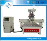 Multi- Workstages máquina rebajadora CNC para madera para la venta
