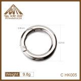 La moda al por mayor de buena calidad Metal de 31mm anillo de resorte para promoción
