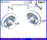 Lampes Shadowless d'opération d'hôpital de plafond d'halogène de tête de double de fournisseur de la Chine