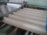 PVCによって艶をかけられる波の版の生産ライン