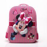 Moda personagens de desenhos animados em relevo as crianças mochila bolsa escolar