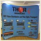 Drucken-Gewebe-Bildschirmanzeige-Fahne, heißer Verkaufs-Aluminiumgefäß-Bildschirmanzeige-Wand