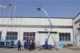 저가 중국 베스트셀러 세륨은 고품질을%s 가진 망원경 이동할 수 있는 유압 붐 상승을 승인했다
