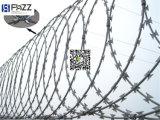 Collegare/barriera di sicurezza a fisarmonica militari galvanizzati tuffati caldi del rasoio