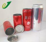 2 조각 알루미늄 깡통 유형의 쉬운 열려있는 뚜껑 맥주 캔