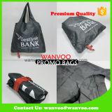 Housse en nylon pliable écologique recyclé promotionnel sac de loisirs