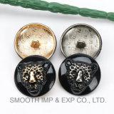 Decoración magnética accesoria del hardware de los botones de la manera del metal de la ropa al por mayor del níquel