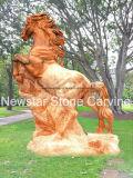 Granitoder Marmorberühmte Mary-Statuen Nss080