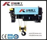 40t grue électrique double poutre de treuil à câble