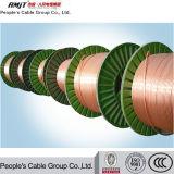 câblage cuivre électrique nu de 1mm