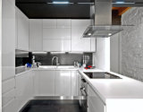 Armários de cozinha de madeira maciça moderna cozinha industrial cabinet