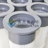 Forst TA-625 Silo de haute qualité haut de la cartouche de filtre plissé de PU