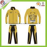 Tuta sportiva asciutta sottile su ordinazione dell'uniforme scolastico di misura per usura di sport