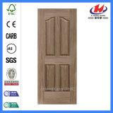 El mejor modifica la piel de la puerta para requisitos particulares de la fabricación de la chapa del roble de HDF/MDF